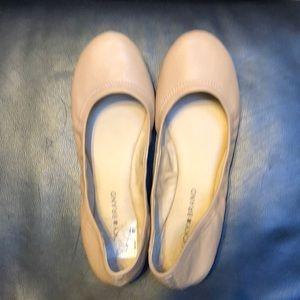 Light Brown Lucky Brand Ballet Flats